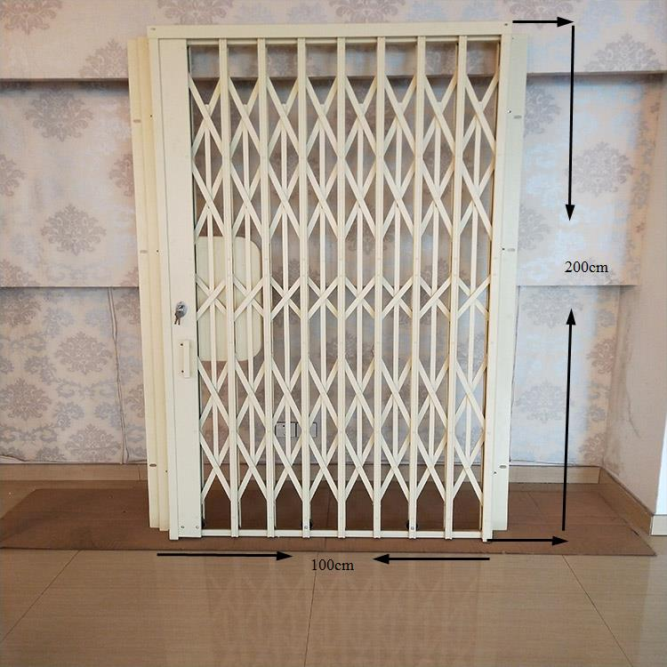 2019 High Quality Customized Beautiful Design Expandable Safety Cheap Price Sliding Fence Folding Gate