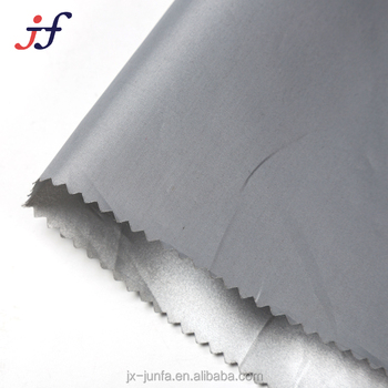 100% Polyester 190T Silver Coated Taffeta Fabric for Garment lining,Tent,Umbrella
