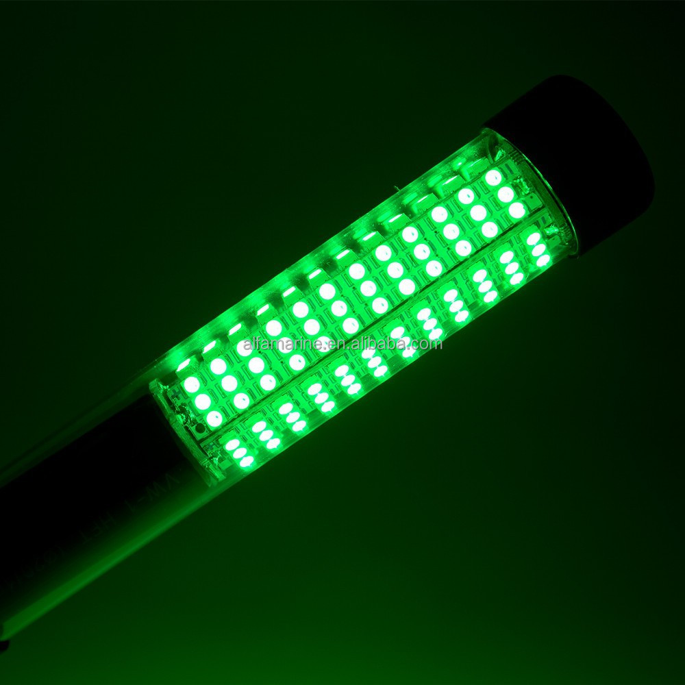 Submersible green led fishing lights for Green led fishing lights