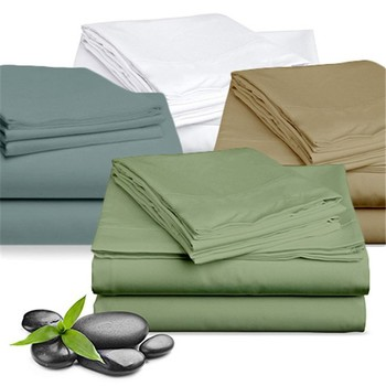 Soft Eco Friendly Breathable Bamboo Bed Sheets To Enhance Your Sleep