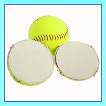 "12"" (.44) Slow Pitch PVC Leather Cover Softball"