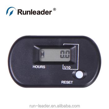 Runleader Waterproof Re-settable Running Hour Meter For Outboard Motor  Mercury Jet Ski - Buy Running Hour Meter,Running Hour Meter,Running Hour  Meter