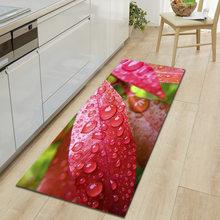 Кухонный коврик с 3D-принтом RFWCAK, нескользящий коврик для прихожей, современный коврик для гостиной, спальни, коврик для ванной в прихожей(Китай)