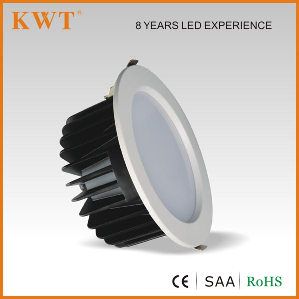 SAA& CE&RoHS approval 6 inch 18 watt down lighter with 3 years warranty