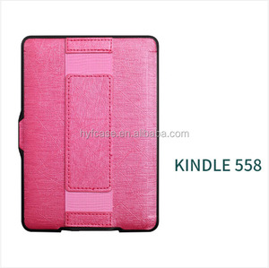 Cover for Kindle Paperwhite123 case 6 inch PU Leather flip Case for Amazon Kindle Paperwhite cover with hand Strap