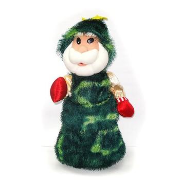 dancing and singing christmas toys 20cm plush musical christmas tree toy