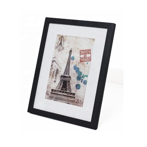 Picture frame A3 size black white OEM colors photo frame with SGS certificate