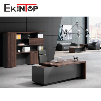 Modern Design Ceo Boss Manager Executive Office Desk For Wood Office