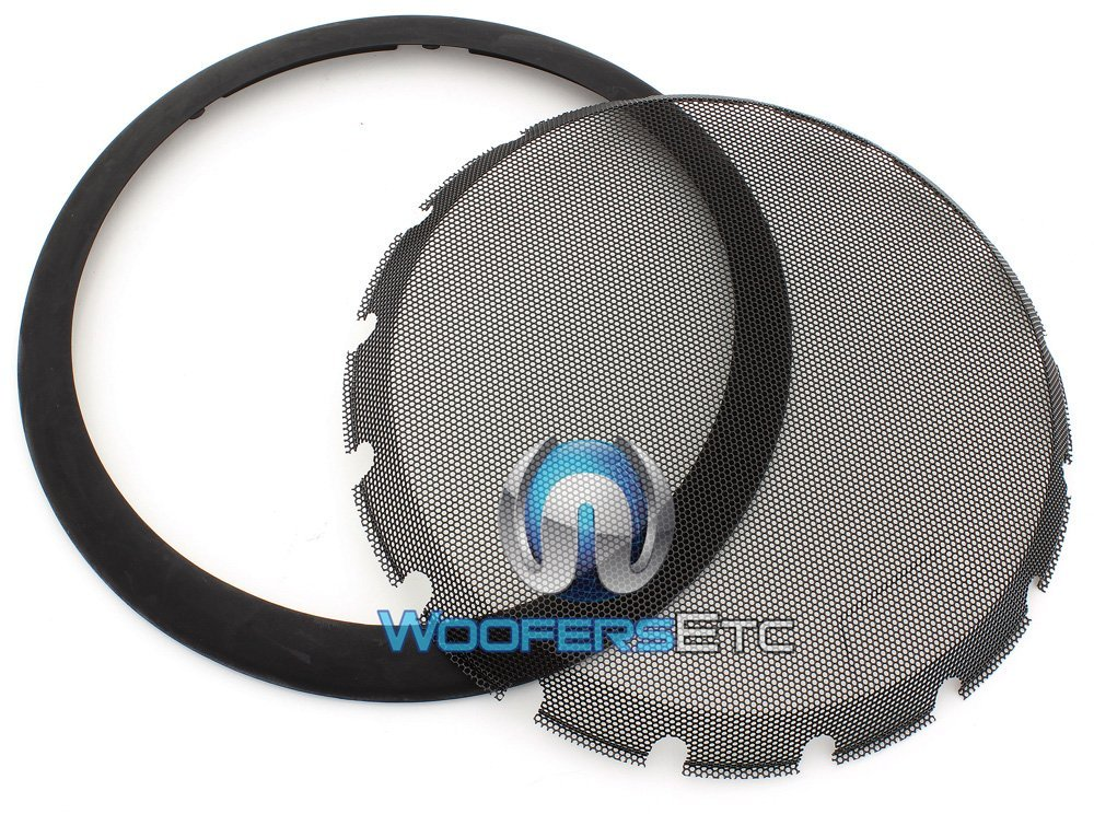 "KTE-12G - Alpine 12"" Protective Subwoofer Grille for Alpine Type R, S, and E Subwoofers"