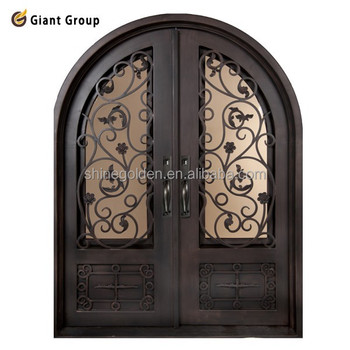 Iron arched doors metal doors to arc with glass stainless steel iron arched doors metal doors to arc with glass stainless steel window grill gyd 15d0056 planetlyrics Image collections