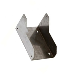 Stainless Steel Metal U Shaped Bracket With Polish