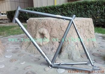 7d8b0b224071 New design titanium MTB bike frame with coupler customize detachable Ti mtb  bicycle frame made XACD