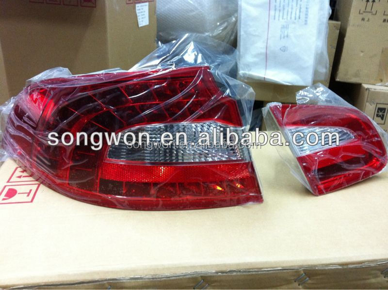 car LED tail light/rear lamp for skoda superb with top quality