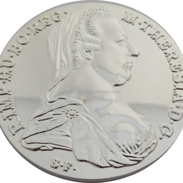 manufacturer blank silver metal souvenir copies of coin