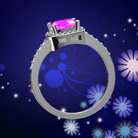 Best high quality valentine gift engagement jewelry silver ring