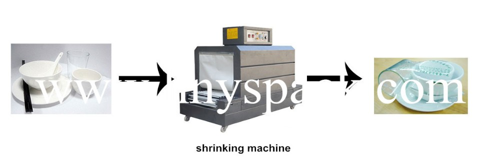 small heat plastic film High Quality manual bottle shrink wrap machine