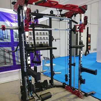 Multi functional machine Functional Trainer Smith Machine Squat Rack XR1001 gym use or home use