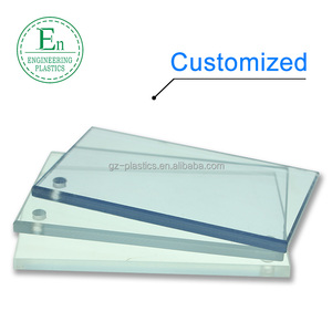 Customized excellent impact resistance clear plastic PC Polycarbonate sheet board