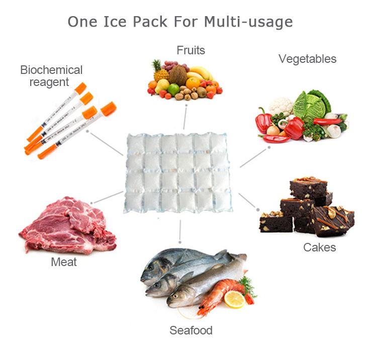 SGS Frozen Food Lunch Box Ice Pack Gel, Ice Pack For Food Storage