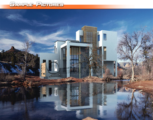 Structural Design Modern Small Houses