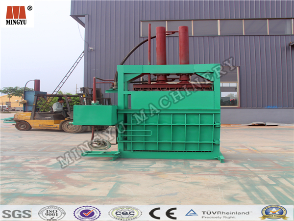 Low fuel consumption coconut shred hydraumatic strapping bag machine to save the shipping cost