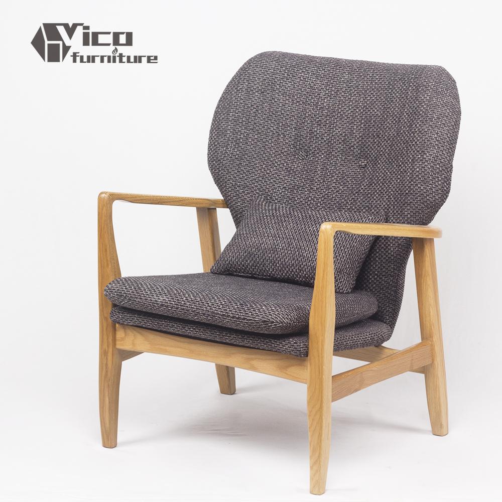 Beste prijs classic ontwerp houten frame ontspannende stof bank ...