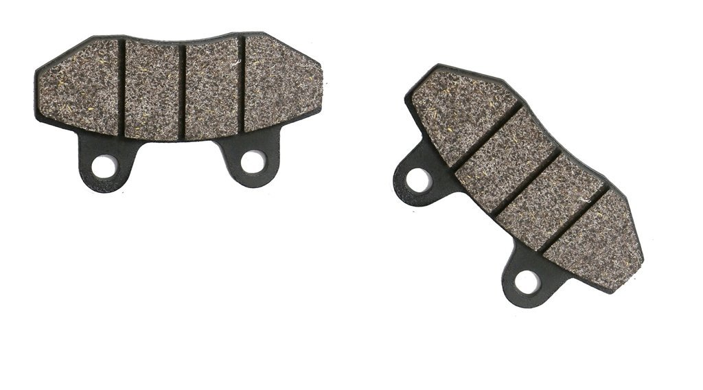 CNBK Front Brake Shoe Pads Semi Met fit for SUPERBYKE Street Bike R-SR250 RSR250 R-SR 250 1 Pair(2 Pads)