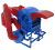 Small Threshing Machine Mini Efficient Rice Thresher