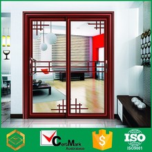 Slide Grill Aluminum Pull Handle Interior Glass Door For Bedroom