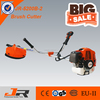 2017 new design 52cc gasoline brush cuttter 2-stroke petrol grass trimmer