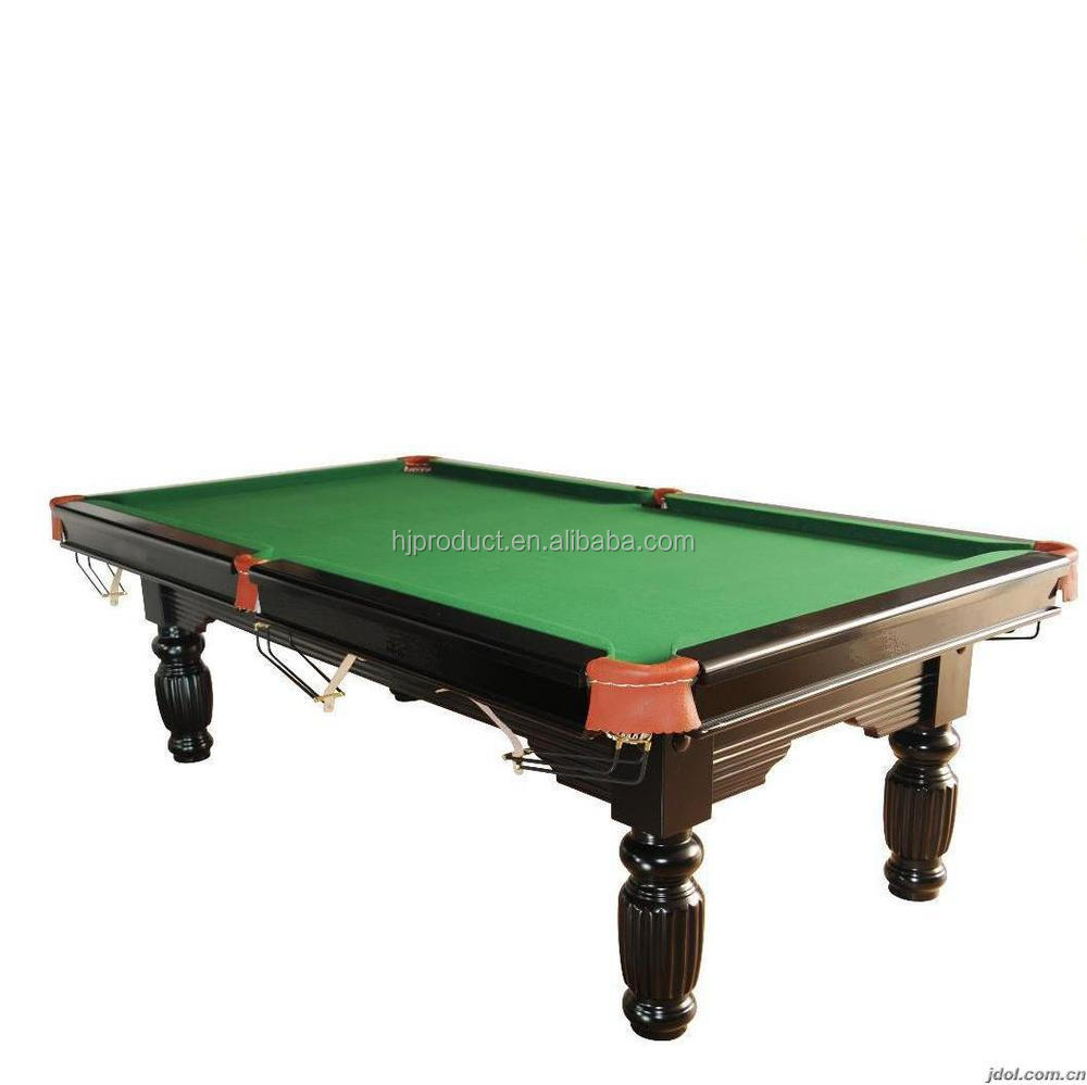 International Standard Size Pool Table, Solid Pool Table, Slate Pool Table