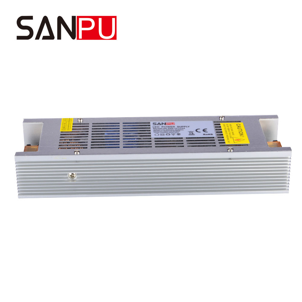 200W 24V Power Supply Multifunctional Switching Mode Power Supply with CE certificate