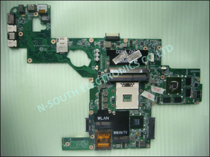 Original Laptop Motherboard For Dell Xps L502x Mother Board Hm67 ...