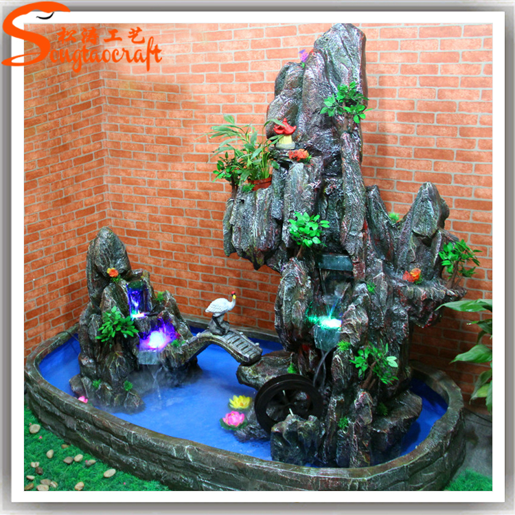 Factory Hot Sale Garden Fountain Indoor Artificial