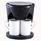 Hot Drip Type 2 Cup Home Hotel Company coffee maker automatic