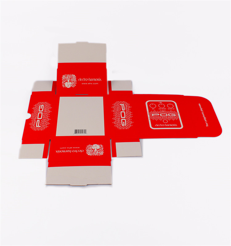 Custom Electronics Square Flip Paper Packaging Corrugated Box