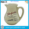 Ceramic highland scotch whisky water jug