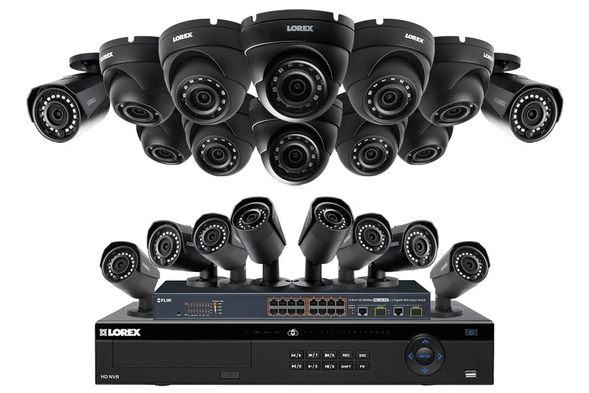 Get Quotations · Lorex 32 Channel 4K 4MP Security System NR9326 6TB HDD 20  Camera system with 10 4MP