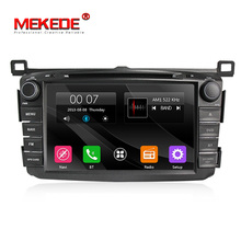 "Mekede Wince6.0 7 ""HD Touch Screen Car DVD Multimedia Player con il GPS per Toyo-ta RAV4 2013- 2016 Autoradio <span class=keywords><strong>Audio</strong></span> Stereo Wifi 3G"
