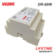 WODE March Expo Low Cost 12V 60W Din Rail Regulated Smps Power Supply