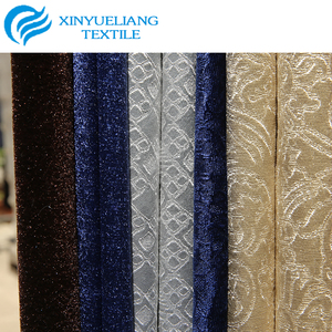 Cheap price velvet waterproof polyester velour fabric used for home textile