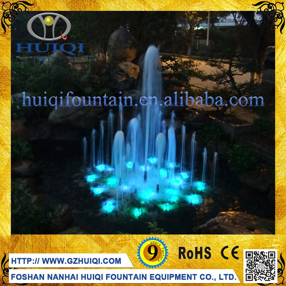 Factory supply LED Colorful music fountain music water fountain music dancing fountain
