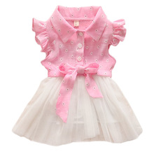 Baby Kids Girls Flower font b Fancy b font Princess Tulle Tutu font b Dress b