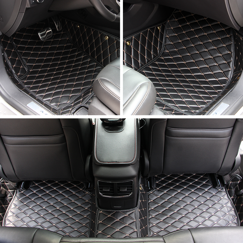 Fun Floor Mats For Cars For Cadillac Escalade(7seat) 2010-