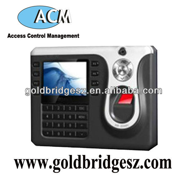 Professional Biometric Time Attendance System With Buit-in CCTV Camera