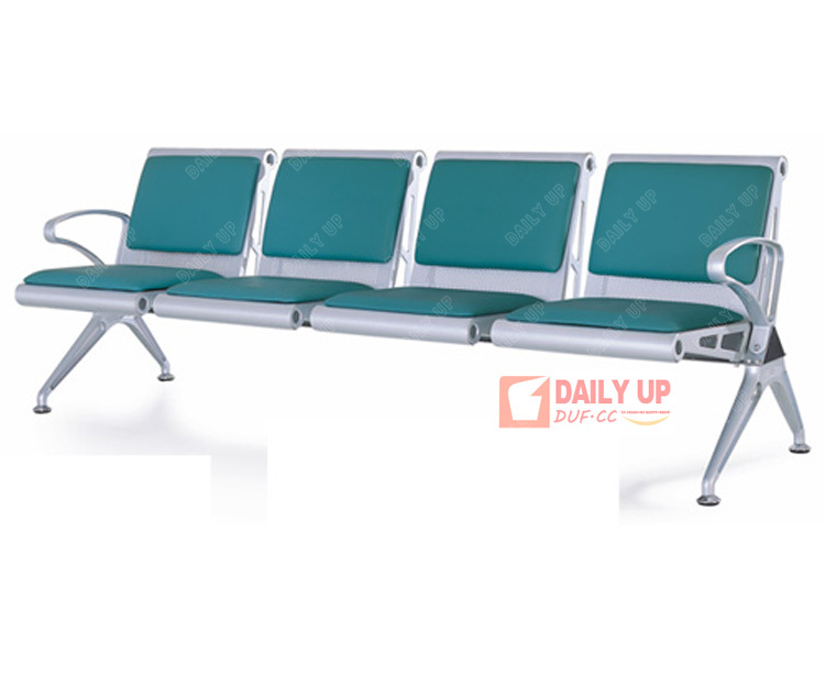 Waiting Room Beam Seating PU Padded Office Lobby Benches Public Chair  Singapore Furniture China Factory