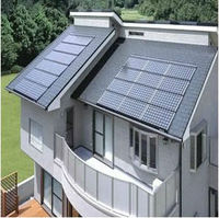 Solar home power energy system kit(with 200w solarpanel,NEW kinds hybird inverter)
