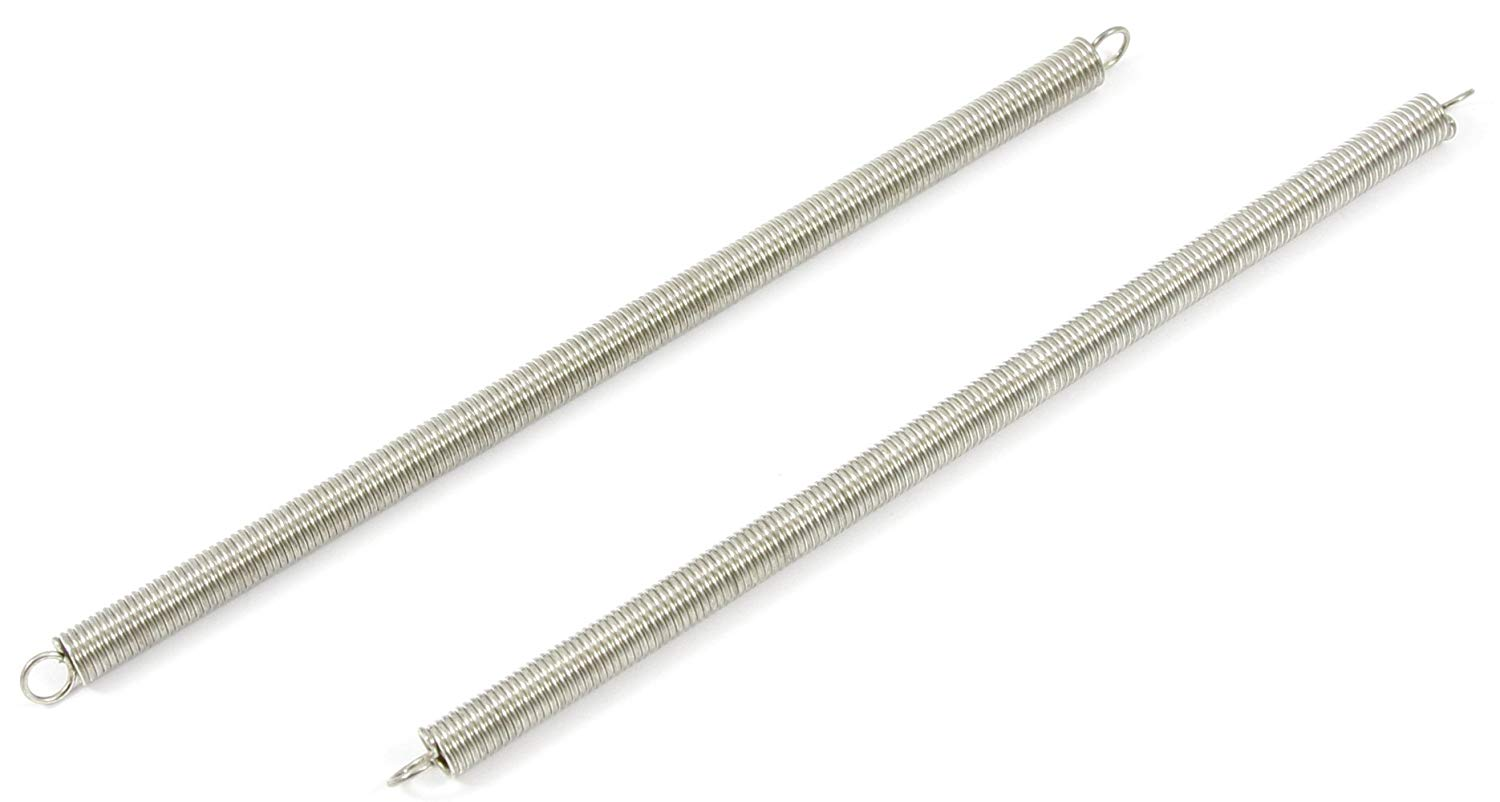 Forney 72561 Wire Spring Extension, 1/4-Inch-by-6-Inch-by-.035-Inch, 2-Pack