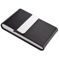 Professional Business Card Holder PU Leather Business Card Case Name Card Holder