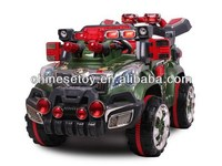 R/C & Foot-step Ride On Car with Music and Light Ride On RC Car